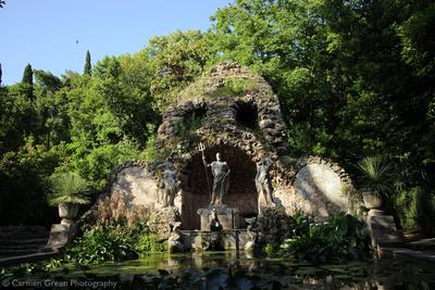 Fountain at Trsteno Arboretum