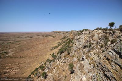 Ridge at Isalo National Park