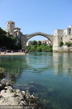Stari Most (Old Bridge) at Mostar